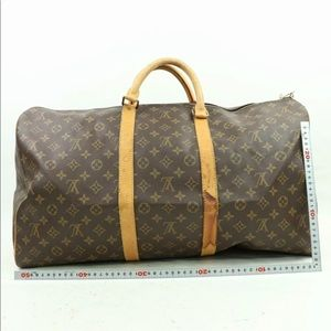 Authentic Louis Vuitton 55 keepall  duffle